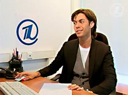 Марк Тишман, он-лайн конференция на Первом канале