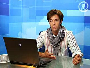 Певец и композитор Марк Тишман, онлайн-конференция Первого канала