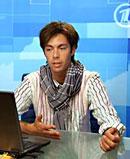Певец и композитор Марк  Тишман, онлайн-конференция на Первом канале