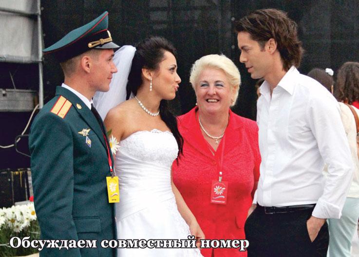 марк тишман фото с женой