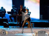 "певец и композитор Марк Тишман на концерте Валерия Меладзе, СК ""Олимпийский"", 22 ноября 2008 года"