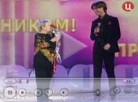 Александра Пахмутова и Марк Тишман