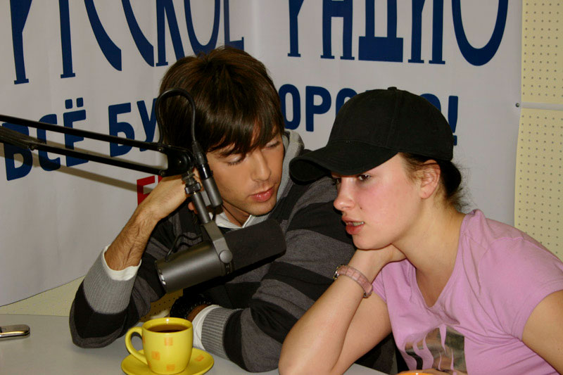 Марк Тишман и Анастасия Приходько