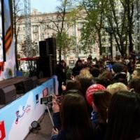 Марк Тишман, Пушкинская площадь Москвы, 09.05.2017