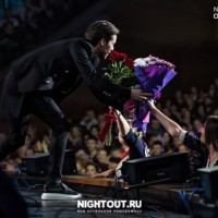 Марк Тишман на концерте «Все хиты юмора». Москва, «Крокус сити холл», 09.10.2016