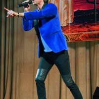 Марк Тишман, съемки в шоу Две звезды, декабрь 2011 года. Фото Popzvezda.RU