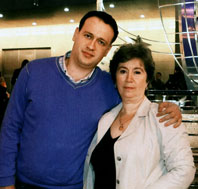 Изольда Михайловна и Михаил Тишманы