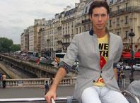 Марк Тишман. Париж, 2009 год. Фото из личного архива Марка Тишмана