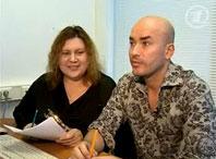 стилист Светлана Глушко и визажист Владимир Калинчев