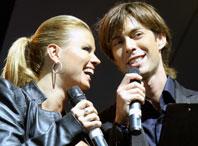 Марк Тишман и Анна Семенович. Фото Popzvezda.RU