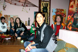 Встреча в фан-клубе Марка Тишмана